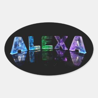 ライトの一流のAlexa 楕円形シール