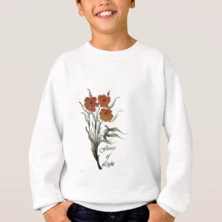 ライトの花 スウェットシャツ