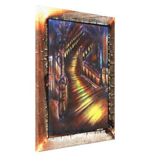 ライトの階段 キャンバスプリント