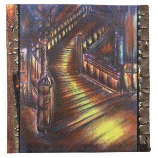ライトの階段 ナプキンクロス