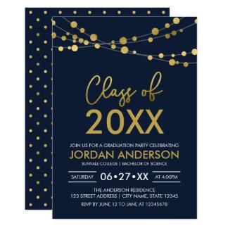 ライトの2018年の卒業パーティーの一連のクラス カード