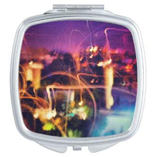 ライトコンパクトの鏡