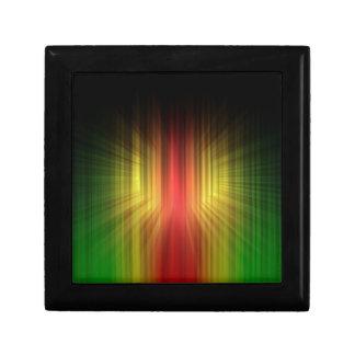 ライトラインの抽象的でクールなプリズム ギフトボックス