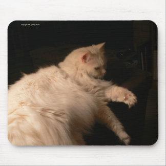 ライト及び影猫 マウスパッド