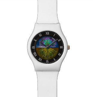 ライト夜空2生命の樹 腕時計