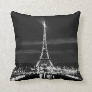 ライト枕のパリフランスエッフェル塔都市 クッション