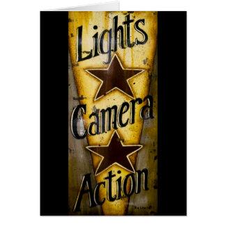ライト、カメラ、行為 カード