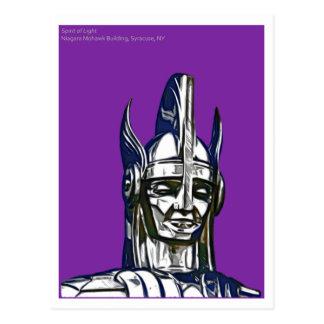 ライト、ナイアガラのモホーク族の人の建物、シラキュースの精神 ポストカード