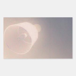 ライト 長方形シール