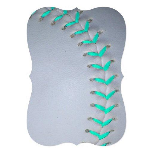 ライト|青い|ステッチ|野球|/|ソフトボール 自分だけの招待状