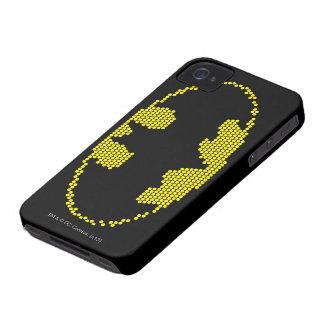ライトBriteこうもりの紋章 Case-Mate iPhone 4 ケース