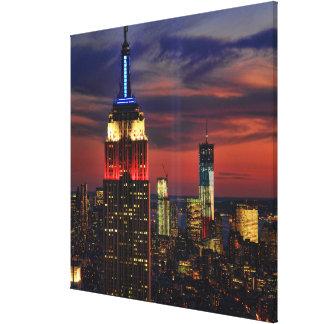 ライトESB 9月11日、国際貿易のCntr #1の捧げ物 キャンバスプリント