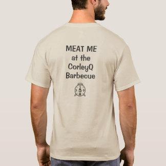 """ライトT - """"肉CorleyQのバーベキューの私"""" Tシャツ"""