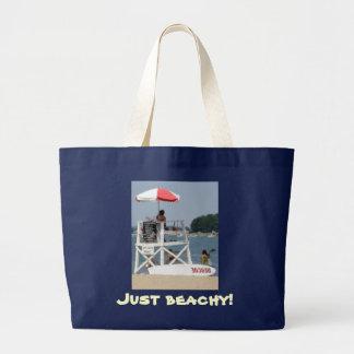 ライフガードのビーチのジャンボBeachbag ラージトートバッグ
