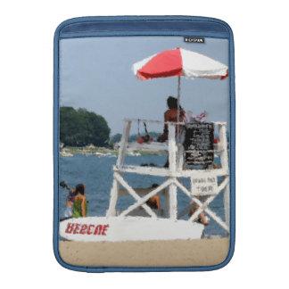 ライフガードのビーチのMacBookの空気袖 MacBook スリーブ