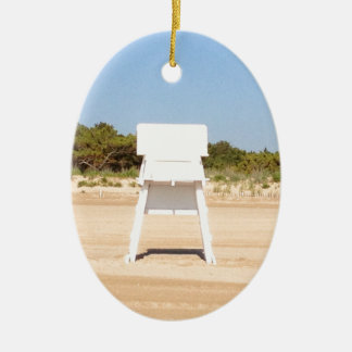 ライフガードの椅子 セラミックオーナメント