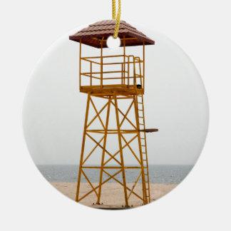 ライフガードタワー セラミックオーナメント