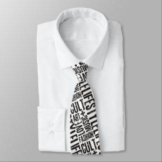ライフスタイルのファッションの嵩拝-黒 ネクタイ