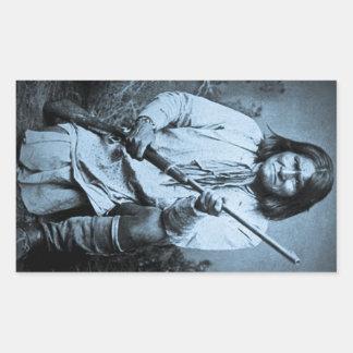 ライフル1886年とのGeronimo 長方形シール