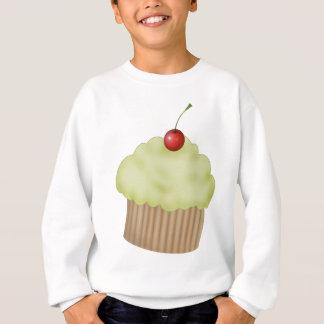 ライムのカップケーキ スウェットシャツ