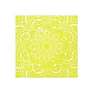 ライムの曼荼羅 キャンバスプリント