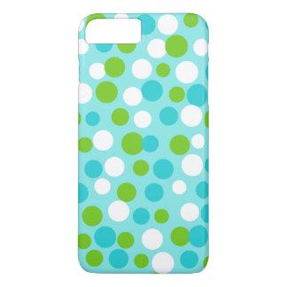 ライムの青はiPhone 7のプラスの場合に点を打ちます iPhone 8 Plus/7 Plusケース