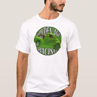 ライムを競争させる黄金時代のWillys Gasserのドラッグ Tシャツ