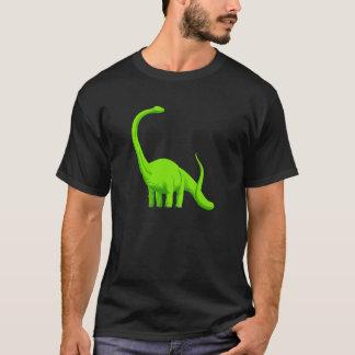ライムグリーンのアラモサウルスの恐竜 Tシャツ