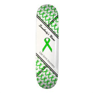 ライムグリーンの標準のリボン スケートボード