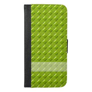 ライムグリーン iPhone 6/6S PLUS ウォレットケース