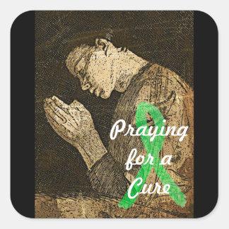 ライム病のステッカーの治療のために祈ること スクエアシール