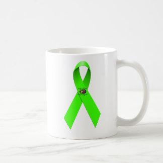 ライム病のマグによって生き延びること コーヒーマグカップ