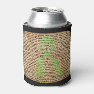 ライム病の感覚の認識度の飲み物のホールダー 缶クーラー