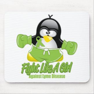 ライム病の戦いのペンギン マウスパッド