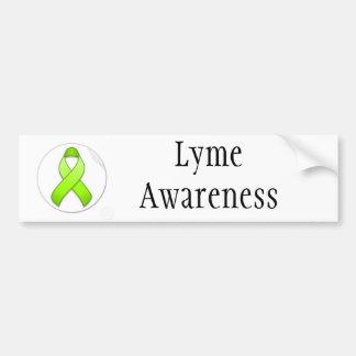 ライム病の認識度のバンパーステッカー バンパーステッカー