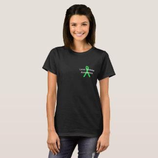 ライム病の認識度のワイシャツ Tシャツ
