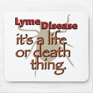 ライム病-それは生命または死の事です マウスパッド