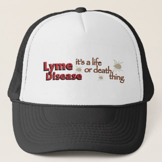 ライム病-それは生命または死の事はです(広い) キャップ