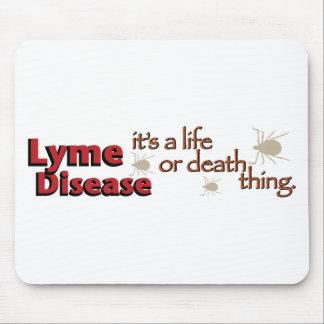 ライム病-それは生命または死の事はです(広い) マウスパッド