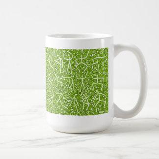 ライム|メッセージ コーヒーマグカップ