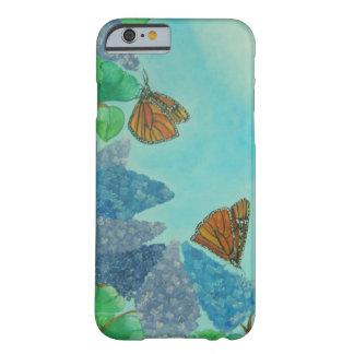 ライラックおよび(昆虫)オオカバマダラ、モナーク BARELY THERE iPhone 6 ケース