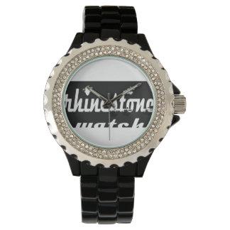 ラインストーンの腕時計 腕時計