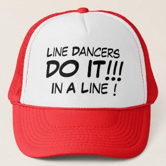 ラインダンサーはラインのそれをします! キャップ