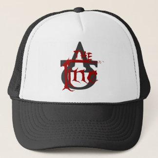 ラインロゴの野球帽 キャップ
