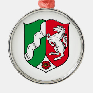 ライン北のウエストファーレン(ドイツ)の紋章付き外衣 メタルオーナメント