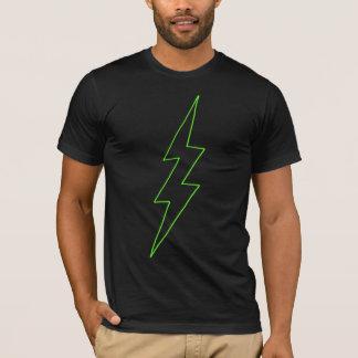 ライン稲妻(ライム) Tシャツ