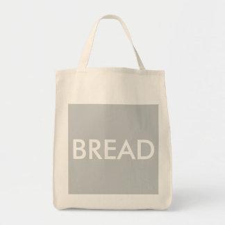 """ラインresusable食料雑貨の""""パン""""の戦闘状況表示板をきれいにして下さい トートバッグ"""