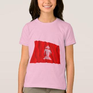 ラオスの振る旗(1952-1975年) Tシャツ