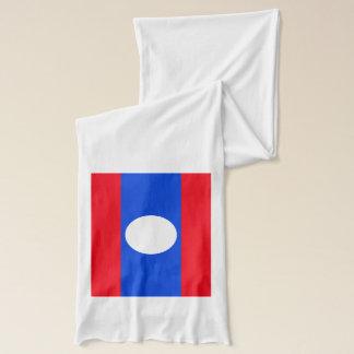 ラオスの旗 スカーフ