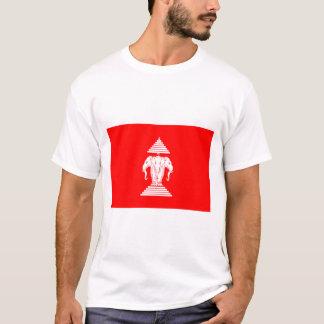 ラオスの旗(1952-1975年) Tシャツ